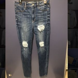 American Eagle Denim Ripped Jeans